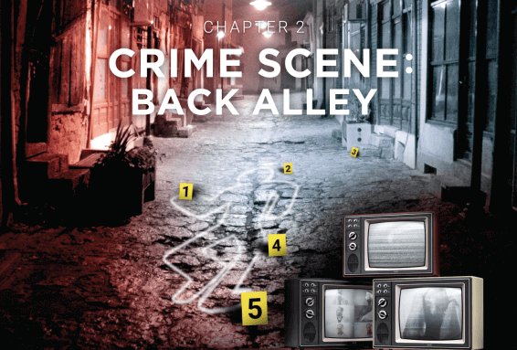 Escape Room - Crime Scene: Back Alley