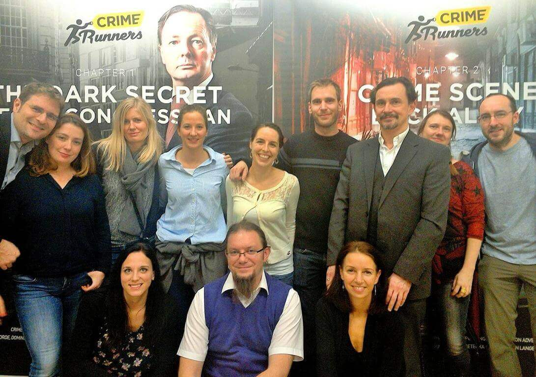Teambuilding in Wien im Escape Room bei Crime Runners