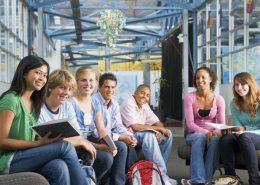 Schulklasse beim Wandertag in Wien
