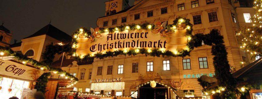 Weihnachtsmarkt in Wien