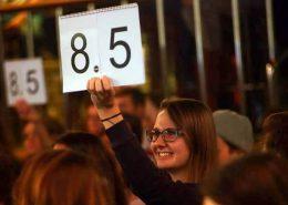 Poetry Slam beim Freispruch von FOMP in Wien
