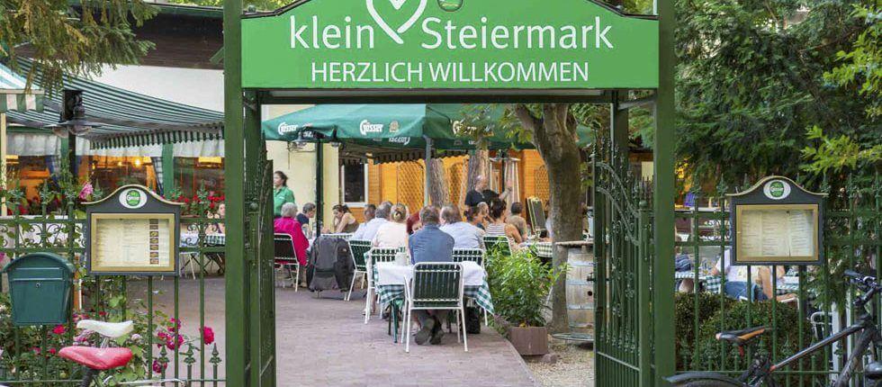 Biergarten Kleine Steiermark