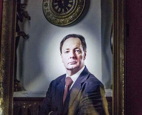 Escape the room wien congress man portrait