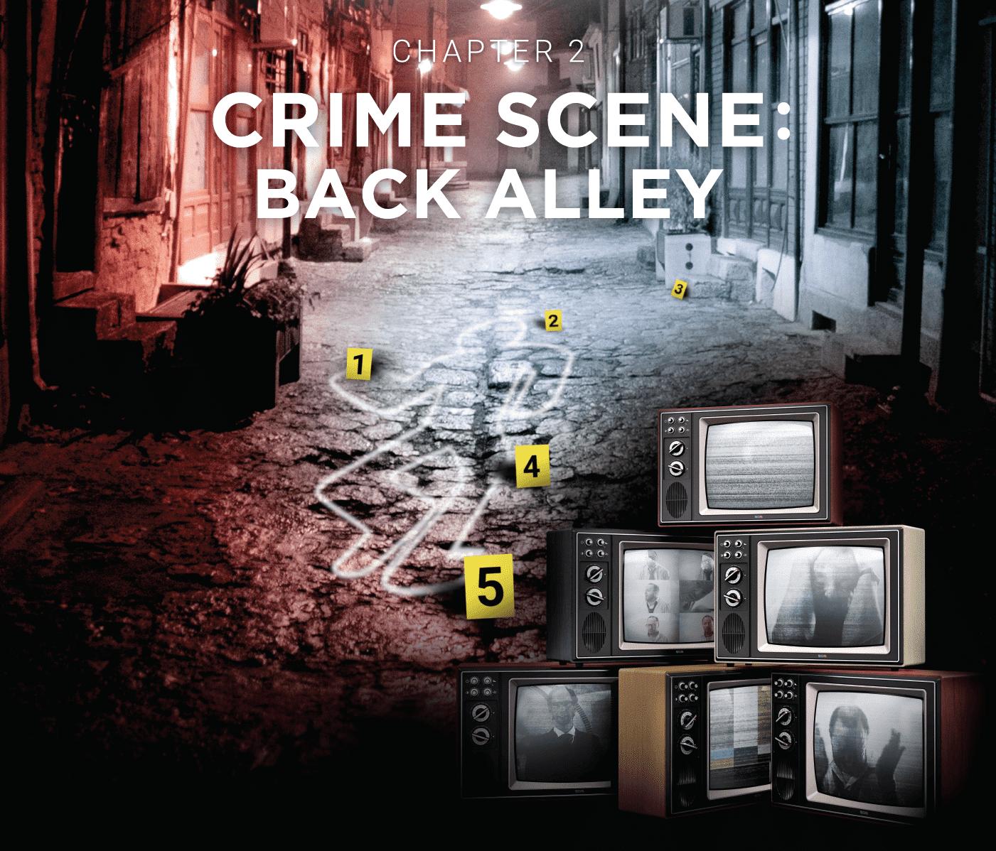 Escape Room Vienna Crime Runners movie poster Crime Scene