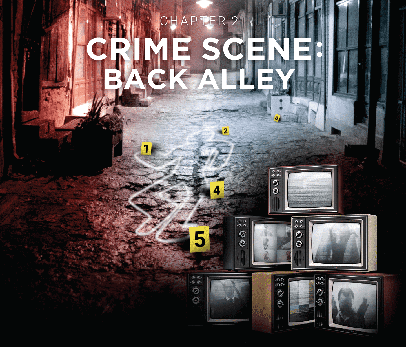 Escape Game Wien Crime Runners Filmplakat Back Alley