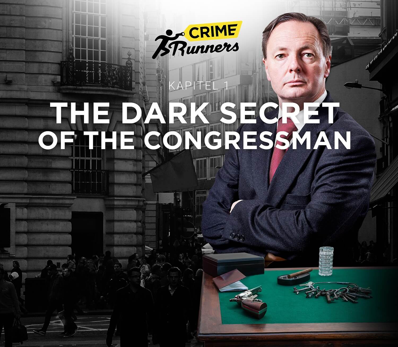 Escape Room Wien Crime Runners Filmmplakat Congressman