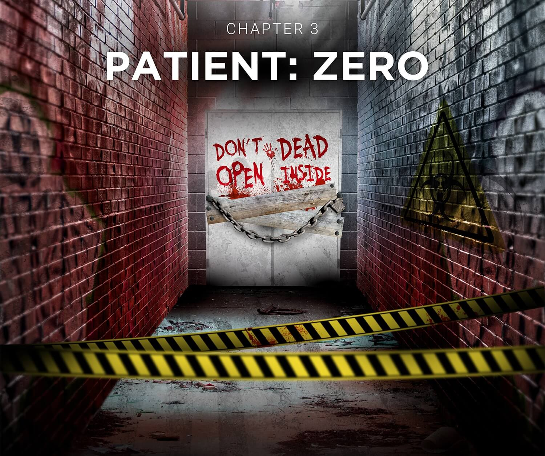 Escape Room Wien Crime Runners Filmplakat Patient Zero
