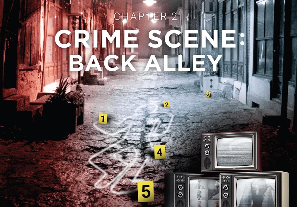 Escape Room Wien - Crime Scene: Back Alley