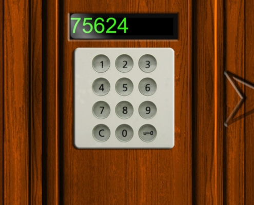 Keypad Tür