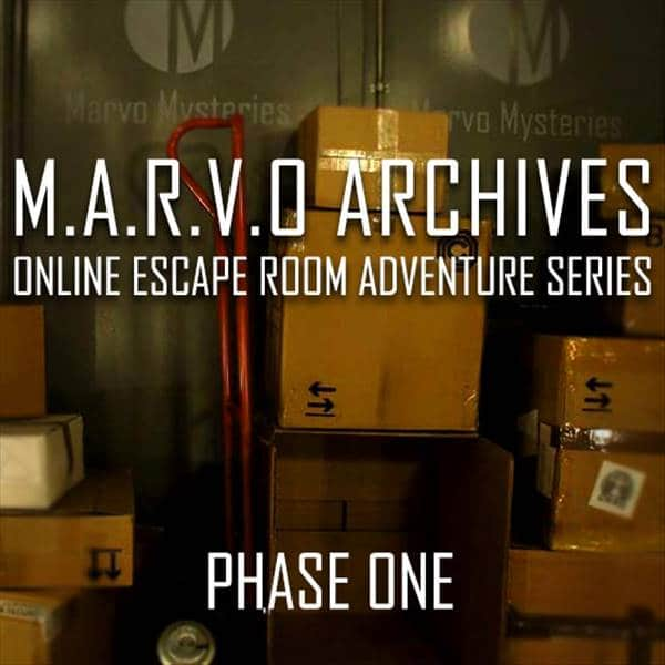 M.A.R.V.O Archives Phase 1- Escape Room Wien