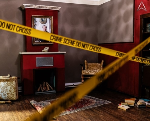 Exit the Room Crime Runners: Absperrband Crime Scene